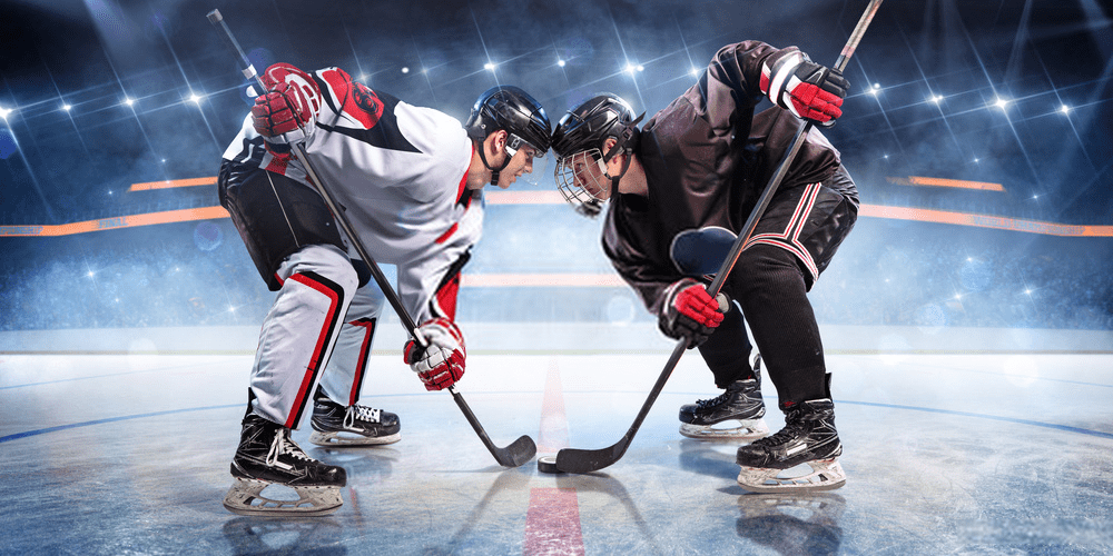 Ice hockey no.5 game the list of 10 most popular sports in the United States