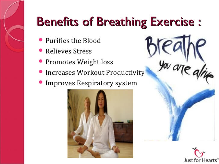 Benefits of breathing exercises for weight loss